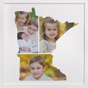 Minnesota Love Location Custom Photo Art Print