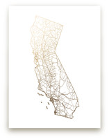 California Map by GeekInk Design