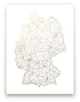 Germany Map by GeekInk Design