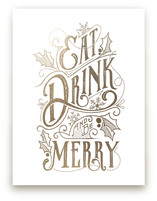Eat, Drink, and be Merr... by GeekInk Design