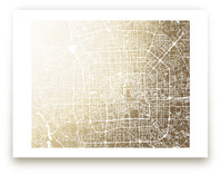 Beijing Map by Melissa Kelman
