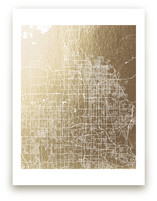 Salt Lake City Map by Melissa Kelman