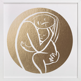 Every Mother Counts - Filled Foil-Pressed Art Print