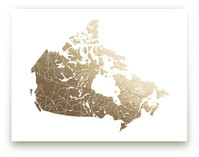 Canada Map by Jorey Hurley