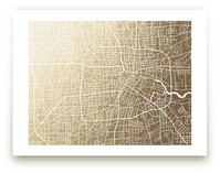 Houston Map by Griffinbell Paper Co.