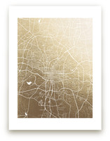 Raleigh Map by Melissa Kelman