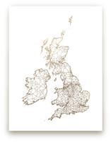 British Isles Map by GeekInk Design