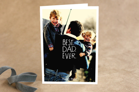 best.dad.ever Father's Day Greeting Cards