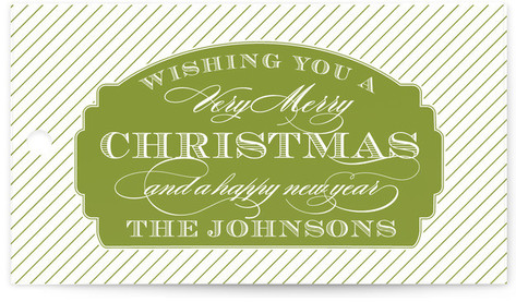 Merry Label Gift Tags