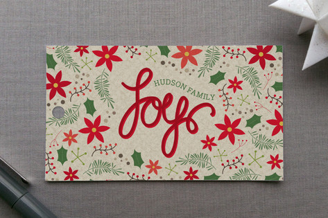 Evergreens & Berries Gift Tags