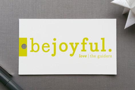 Be Joyful Gift Tags