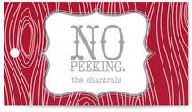 No Peeking Woodgrain by Christiana Hudson