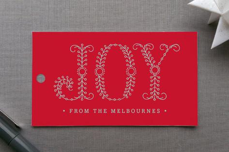 Decorous Joy Gift Tags