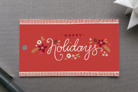 Ribbon Noel Gift Tags
