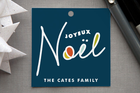A New Noel Gift Tags