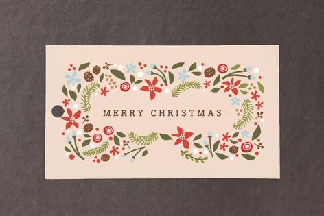 Blushing Christmas Gift Tags