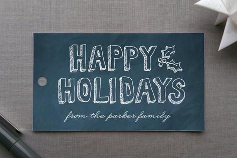 Hand Drawn Holiday Gift Tags