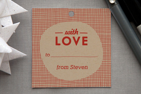 Meshed with Love Gift Tags