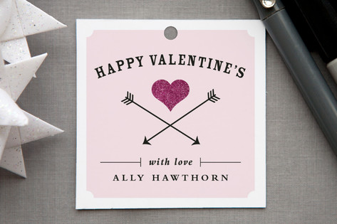 Heart and Arrows Gift Tags