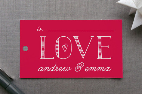 Bold Love Gift Tags