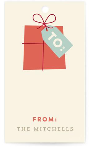 Retro Noel Gift Tags