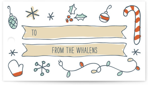 Holidoodle Gift Tags