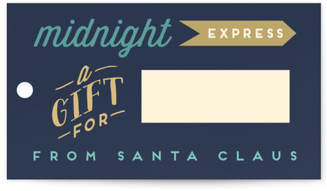 Merry Express Gift Tags
