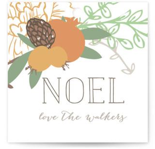 Rustic Garden Noel Gift Tags