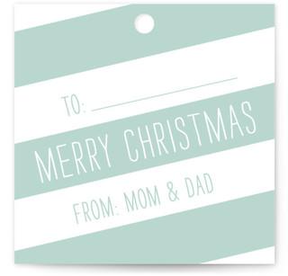 Santa's Wrap Gift Tags