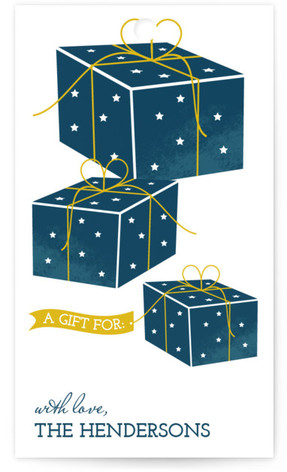 8 Nights Gift Tags