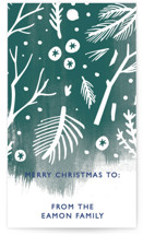Winter Flora and Fauna Gift Tags