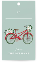 Christmas Bicycles by Rebecca Durflinger