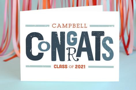 Vintage Congrats Graduation Greeting Cards