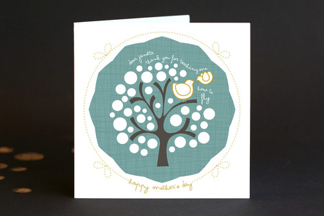 You Taught Me to Fly Mother's Day Greeting Cards