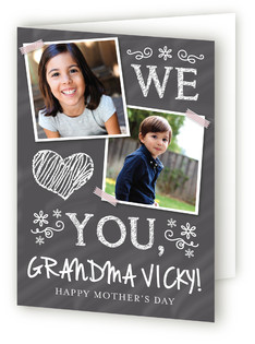 We Heart You Mother's Day Greeting Cards