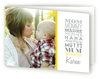Mom, Mommy, Mother Mother's Day Greeting Cards