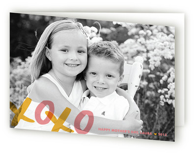 XOXO Mother's Day Greeting Cards