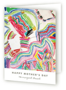 Work of Art Mother's Day Greeting Cards