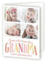 Love for Grandma Mother's Day Greeting Cards