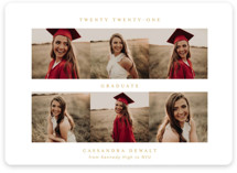 From Here To There Graduation Announcement Magnets