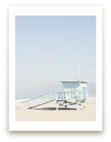 The Pastel Blue Lifeguard House