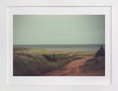 Green Gables Shore Art Print