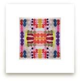 Dippin Dot Squared No 3 by Kristi Kohut - HAPI ART AND PATTERN
