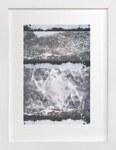 A Winters Drive Art Print