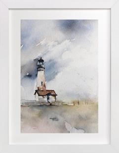 Solitary Watch Art Print