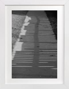 shadow walk Art Print