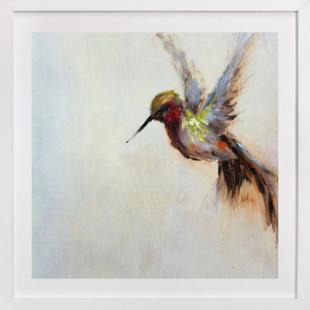 The Humbly Hummingbird  Art Print