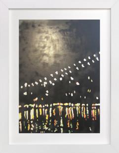 Down Under the Brooklyn Bridge Art Print
