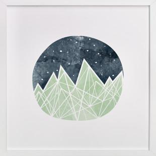 Nighttime Sky Art Print