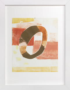 Circle Swatch II Art Print